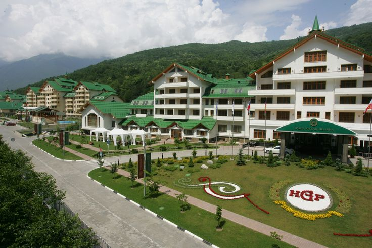 Grand Hotel, Rosa Khutor Alpine Resort Krasnaya Polyana, Sochi, Krasnodar Krai; Russia