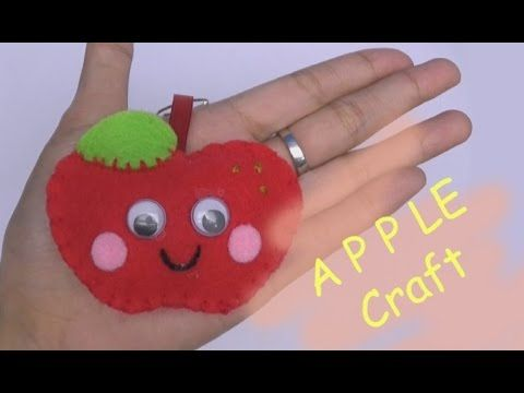 Craft For Kids Craft Fruit Apple Craft Easy Craft Handmade Nursery Rhymes