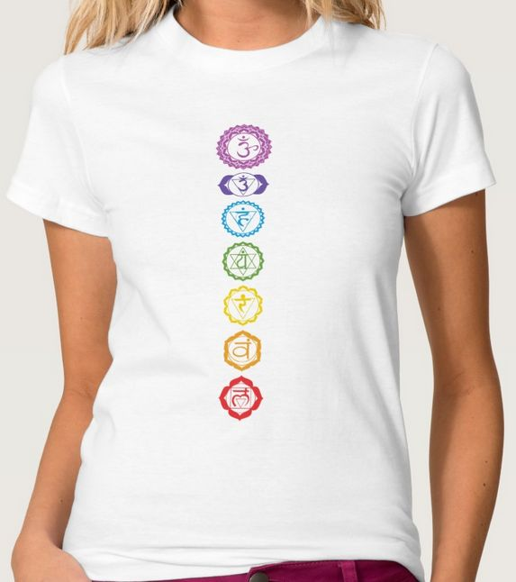 Chakras T-shirt for men, women or children