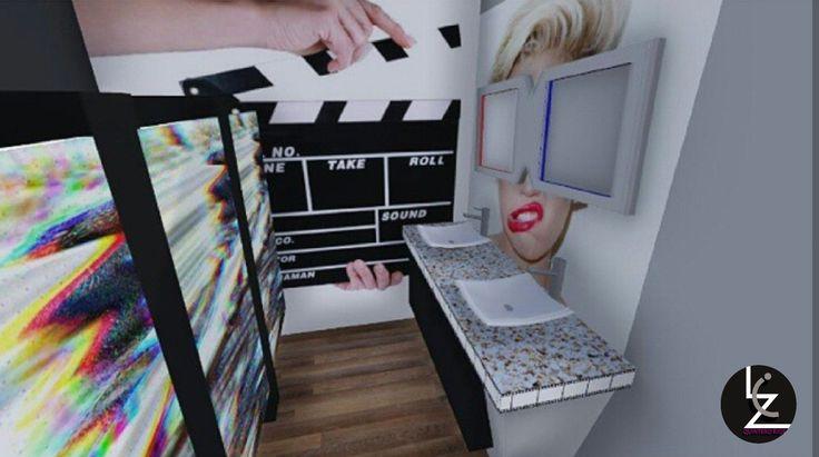 Proyecto universitario/Remodelacion de los baños del Cine moderno de chitre