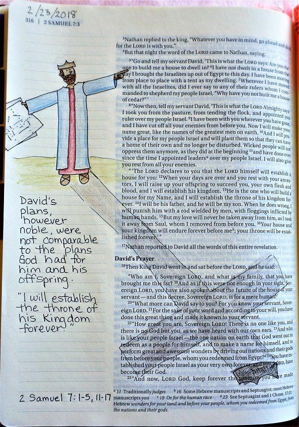 2 Samuel 7:1-5, 11-17