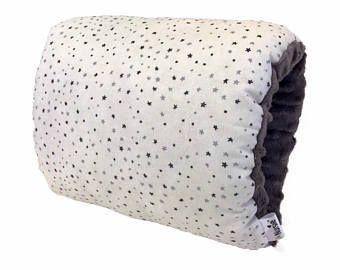 Wonderwall Nursie / gris et blanc d'allaitement coussin / genre neutre l'allaitement coussin / oreiller de bras