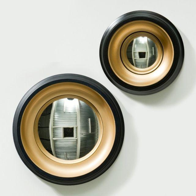 Pour l'escalier, une myriade de miroirs ! Miroir de sorcière Samantha, 2 tailles, Am.Pm