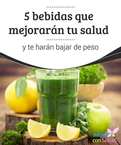 5 bebidas que mejorarán tu salud y te harán bajar de peso  La acumulación anormal de grasa corporal causada por el sobrepeso y la obesidad es un problema que no solo afecta la figura y la autoestima,