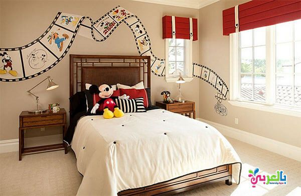 اجمل موديلات غرف نوم اطفال لون بني و عسلي و بيج بالعربي نتعلم Disney Room Decor Disney Kids Rooms Disney Bedrooms