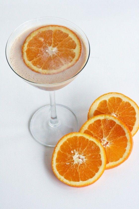 orange creamsicle martini - because I like extra calories with my alcohol
