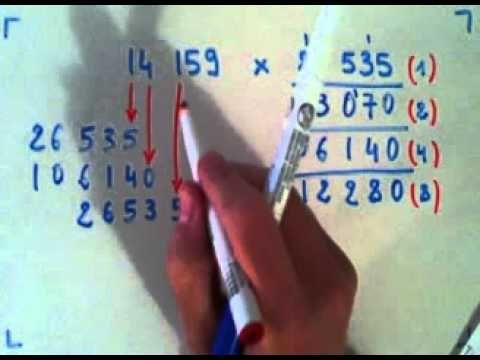 Multiplication rapide sans connaitre ses tables