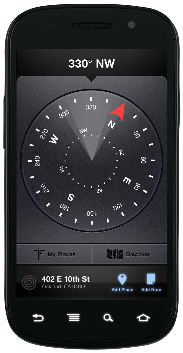 Compass Ui - nice textures