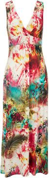 Multi-Coloured Petite Maxi Dress