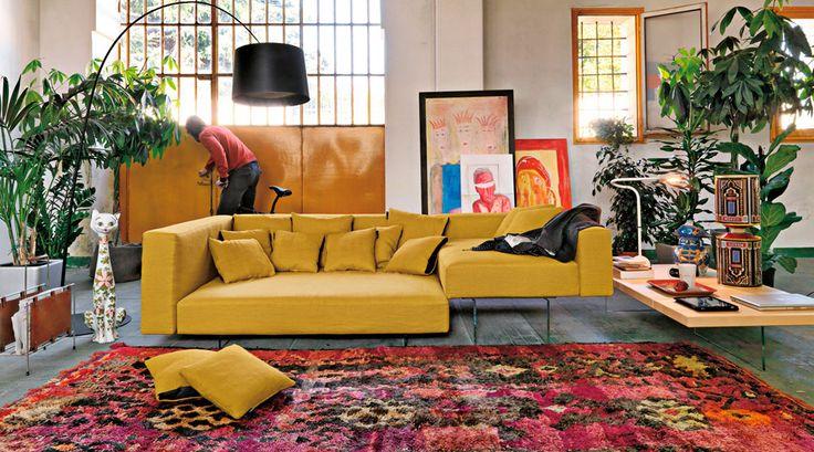 Three-seater sofas: Sofa Air comp.400 by Lago