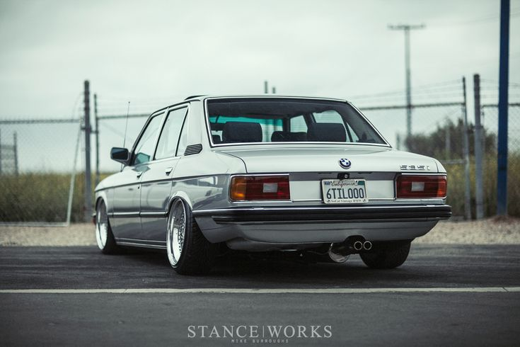 Ron Perry's Air Lift Performance-Equipped 1980 BMW E12 535i