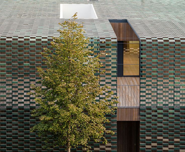 Best Images About Mat On Pinterest Restaurant Art Studios - Camouflaged into its surroundings mcdonalds restaurant by mei architects