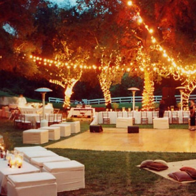 Backyard Wedding Layout | Backyard wedding.