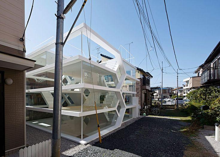 Yuusuke Karasawa's S House has an entirely transparent facade