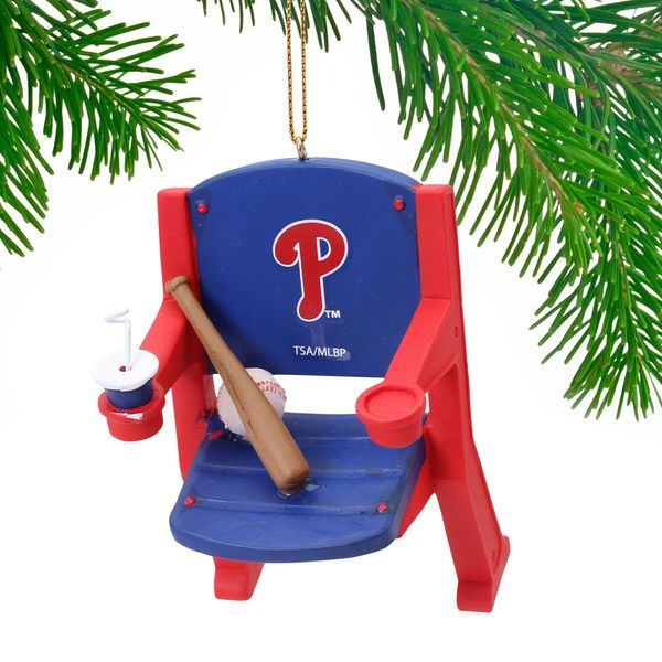 Philadelphia Phillies Stadium Chair Ornament - $11.99