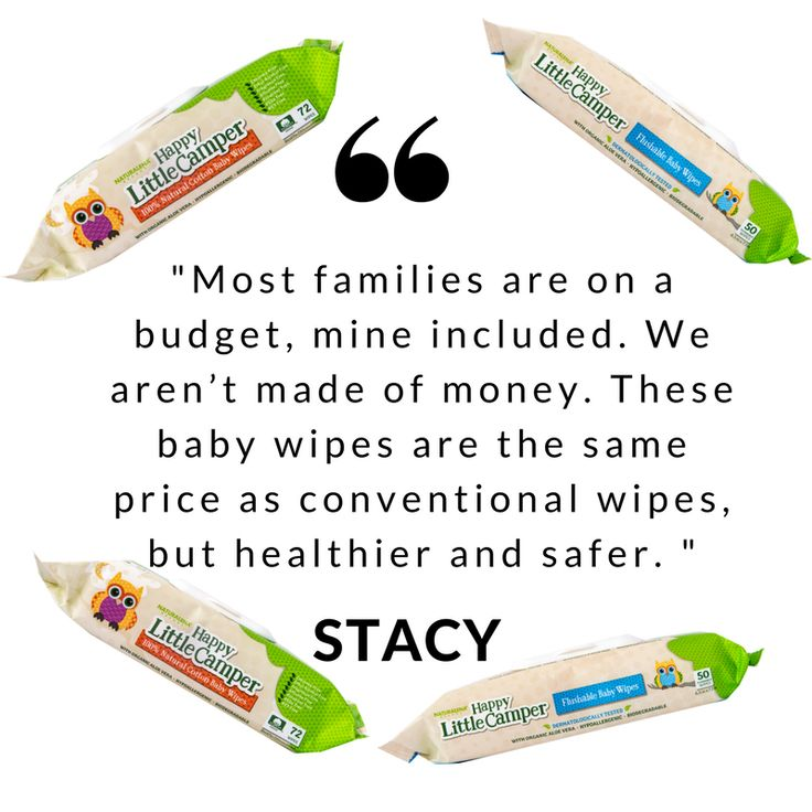 When it comes to the happy little campers in our lives, natural is better. When you add up the number of times you wipe your baby's delicate skin, you'll appreciate why pure matters. We created Happy Little Camper essentials because we want you to care for your child's skin without going over-budget.