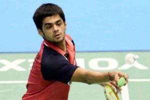 B Sai Praneeth lost his singles pre-quarterfinal match against England's Rajiv Ouseph in a three-setter as Indian challenge at the Bitburger Badminton Open Grand Prix Gold came to an end here.