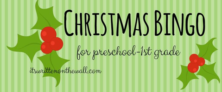 A Fun Christmas Activity for kids-Christmas Bingo Games-Start a new Family Tradition-2 different games