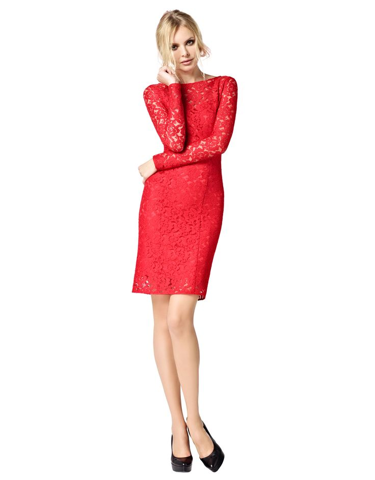 Selma - rood kant - LaDress by Simone