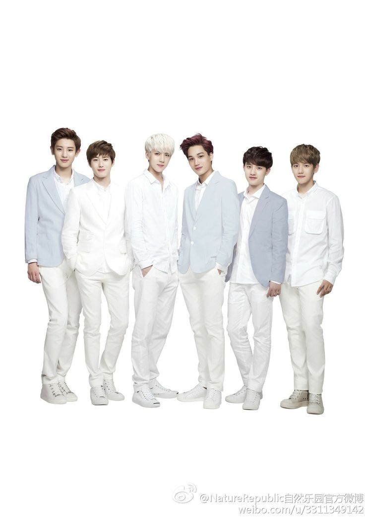 #EXO ♡  for Nature Republic