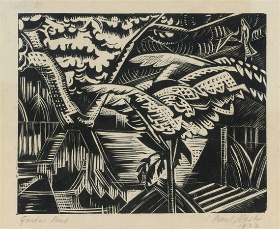 Paul Nash, Garden Pond