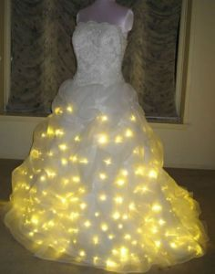 Light Up Dress OMG I Just Saw This On Modern Family Hideous Yet Funny IMO