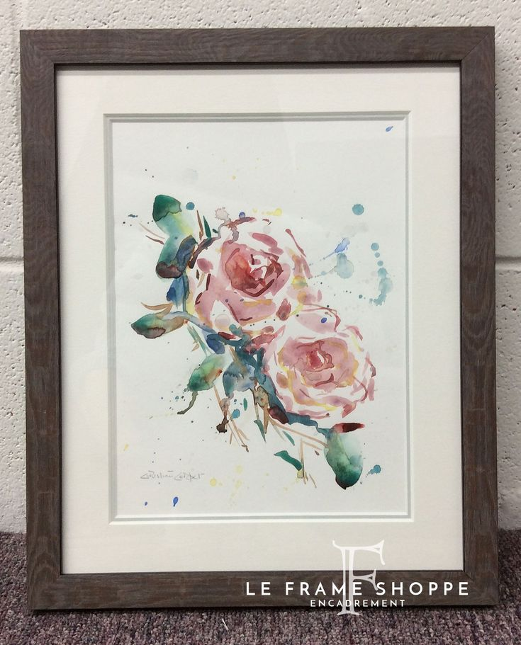 The 21 best WATERCOLOURS | custom framing ideas images on Pinterest ...