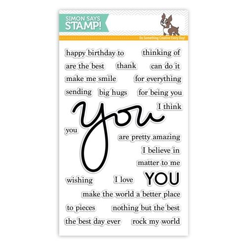 RESERVE Simon Says Clear Stamps YOU MATTER SSS101645 STAMPtember at Simon Says STAMP!