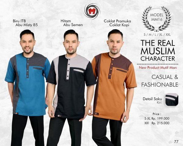 Baju Kemeja Pria Mutif Man MM-16