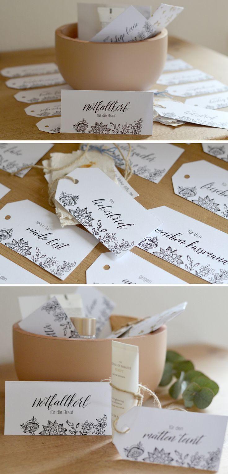 Braut und Bru00e4utigam Notfallbox: Survival Kit zur Hochzeit Eine Notfallbox i…. – Hochzeitsgeschenk