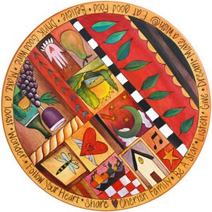 I want this lazy susan. It BELONGS on my table!