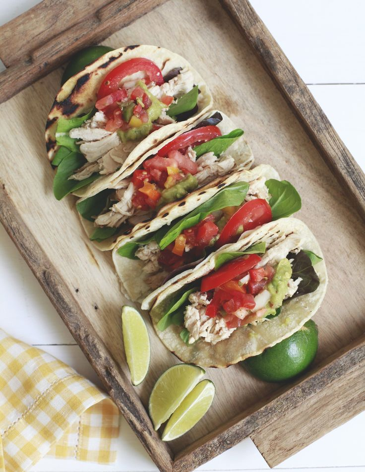 Recipe: Slow-Cooker Chicken Tacos — The Summer Slow Cooker