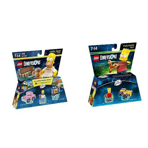 Lego Dimensions The Simpsons Level Pack  Bart Fun Pack