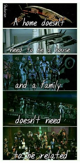 Mass Effect Family                                                                                                                                                                                 More
