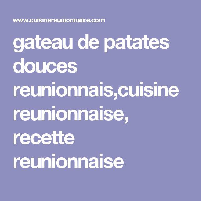 Gateau patate recette 974