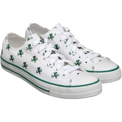 Notre Dame Fighting Irish Row One Women's Oxford Lace-Up Sneakers - White
