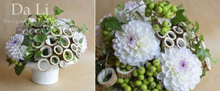 flowers arragement by Da Li Design&Floristics