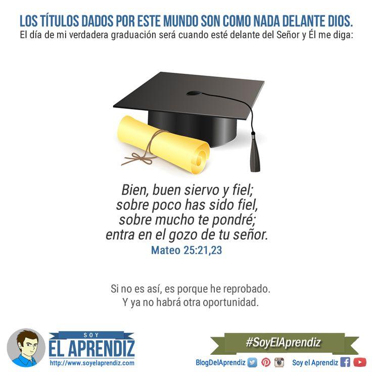 El día de mi verdadera graduación. #SoyElAprendiz