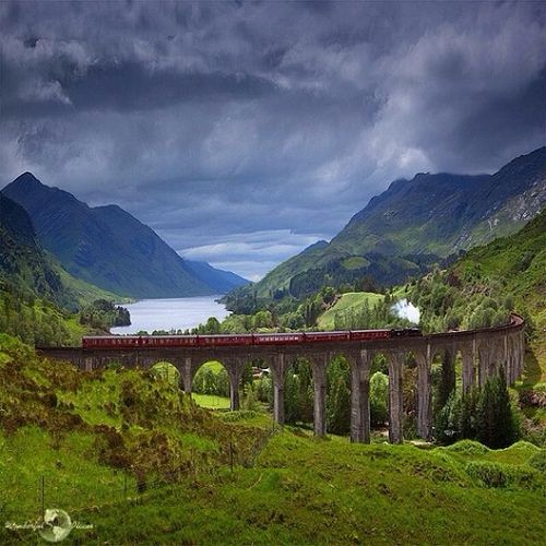 Life is a journey with problems to solve, lessons to learn, but most of all, experience to enjoy ✨✨ Glenfinnan Viaduct, Scotland, picture by @cloud_kyiv ✨✨