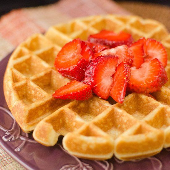 Cinnamon Belgian Waffles | Recipes to try | Pinterest