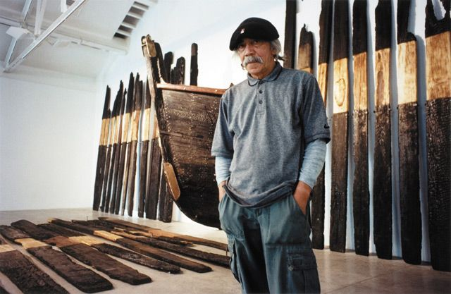 Ralph Hotere (1931 - 2013) - one of New Zealand's greatest artists... ever.
