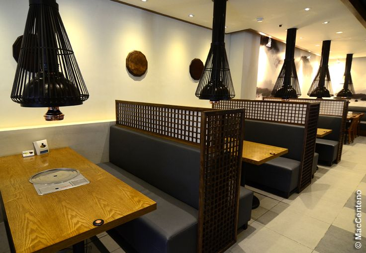 Best korean restaurant interiors images on pinterest