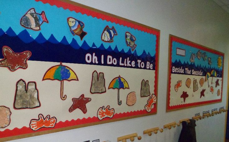 The Seaside classroom display photo - Photo gallery - SparkleBox