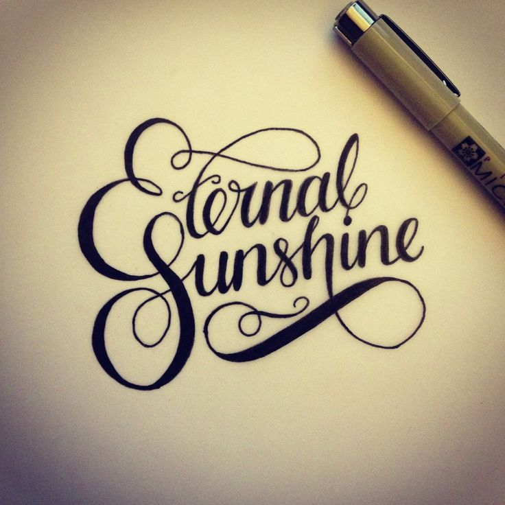 Eternal Sunshine... This would make a good tattoo for my God daughter Emily. Precious baby taken too soon