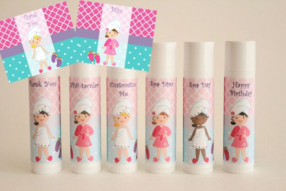 Spa Day Party Favor  Kids Spa Day  Set of 6  by NanasPartyPalace, $12.00