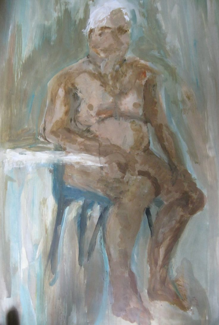 Life drawing - paint
