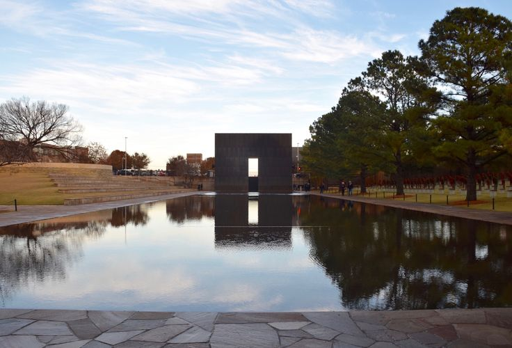 """"""" Oklahoma City National Memorial """" in Oklahoma City Oklahoma Route 66 on My Mind """" Route 66 blog ; http://2441.blog54.fc2.com https://www.facebook.com/groups/529713950495809/ http://route66jp.info"""