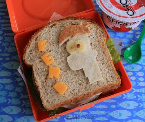 Hawaii's Bento Box Phineas & Ferb lunch