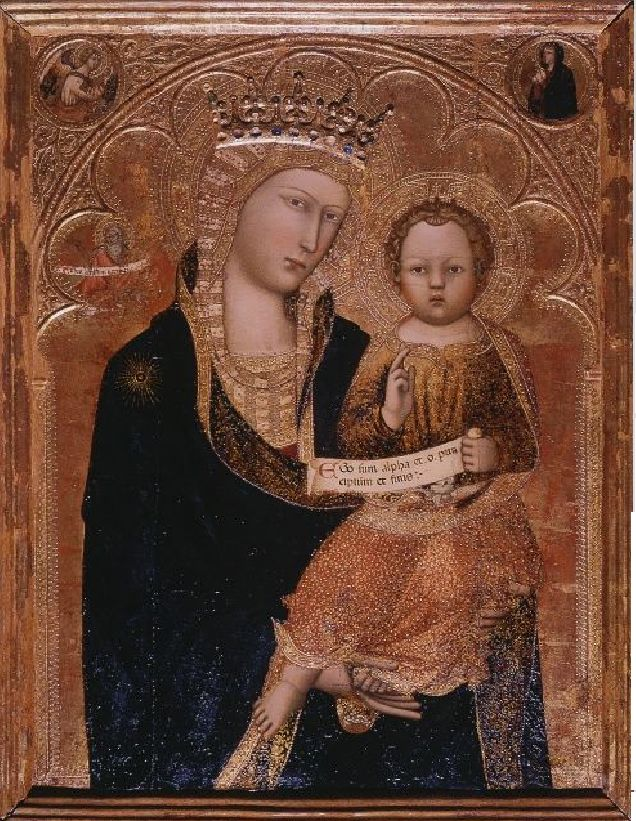 Madonna and Child by Andrea Vanni,1390