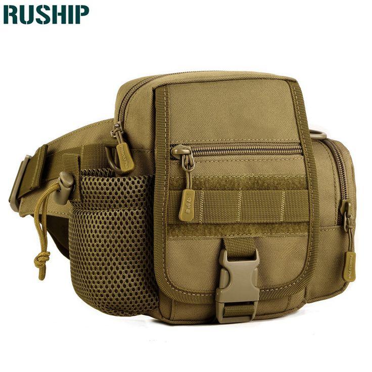 Outdoor sports Tactics kettle Waist Pack Waterproof Fanny Pack Belt Bag Sling Shoulder Messenger hunting waist bag